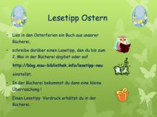 Lesetipp Ostern