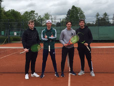 Jungen-Tennismannschaft